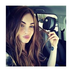 Megan Fox Joins Instagram and Posts Selfies ❤ liked on Polyvore featuring megan fox, kenzie and photo
