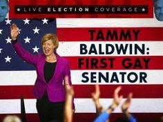 Tammy Baldwin: First Gay Senator
