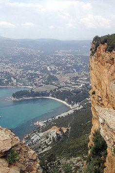 Route des cretes : entre Cassis  La Ciotat - www.cassis.fr