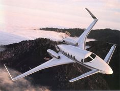 Beechcraft Starship.  Incredibly cool unique aircraft. :)
