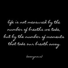 Thank you for the breath of life!