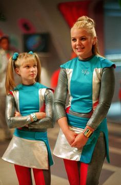 Zenon!!! I used to do my hair like this because of this show...
