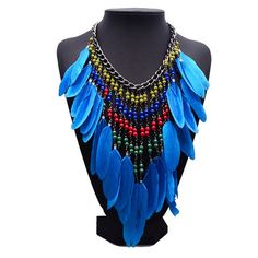 Ethnic Bohemian Big Necklace Collares