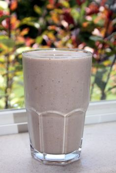 Grain Crazy: Almond Chocolate Peanut Butter Smoothie. I tried this. It tastes amazing! Very quick and easy to make