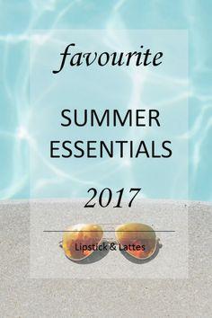 Summer Essentials Lipstick & Lattes [[MORE]]. Summer Essentials, Latte, Lipstick, Lipsticks