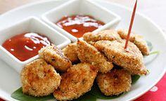 Receta de Nuggets de Pollo con Salsa Barbacoa, Cocina Costarricenses