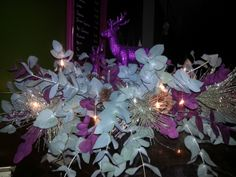 Our countertop floral display.