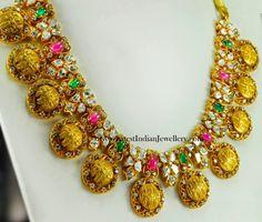 Sri Rama Pattabhishekam Gold Necklace