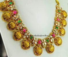 Sri Rama Pattabhishekam Gold Necklace