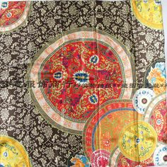 2015 Autumn and winter women's silk scarf red blue red print scarf lady new arrival square big satin scarf pashmina cape 90*90cm-inScarves from Women's Clothing & Accessories on Aliexpress.com | Alibaba Group