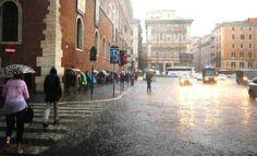 Maltempo Roma: Domenica 18 codice giallo con temporali e grandine