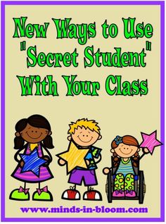 New Ways to Use Secret Student with Your Class! This post is part of the Bright Ideas Blog Hop, so be sure and check out the other amazing posts while you are there (and pin the ones you like!)