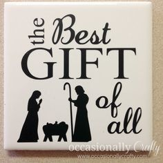 Occasionally Crafty: Relief Society Christmas Dinner Used videos as their program! Frugal Christmas, Christmas Vinyl, Christmas Signs, Holiday Fun, Christmas Holidays, Christmas Central, Christmas Neighbor, Neighbor Gifts, Christmas Nativity