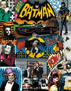 1966 Batman television series by ~smashortrash on deviantART