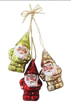 Christopher Radko A Gnomes Home Glass Ornament  Christopher