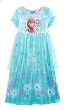 Disney's Frozen Girl's Nightgown http://rstyle.me/n/taen2bh9c7