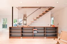 mid century modern staircase - Google Search