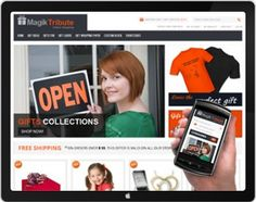 MagikTribute is a responsive Magento theme which is fully customizable and suitable for any kind of Magento store on any device.