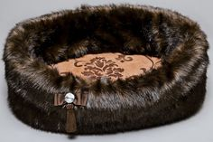 Chocolate Dog Bed by Lola Santoro - Puppy Kit