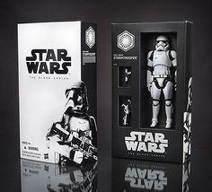 "2015 SDCC Star Wars Black Series 6"" Stormtrooper THE FORCE AWAKENS Action Figure"