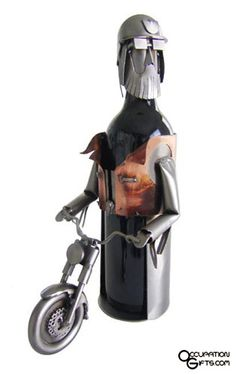 Biker Wine Holder