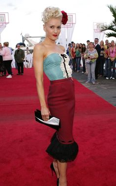 one of the most memorable red carpet looks
