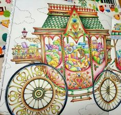 The present / Daria song  -  One of the beautiful images from #thepresent which has a lovely carriage that reminds me of cinderella and fairy tales
