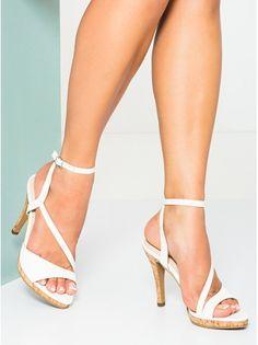 SOLES White Heels