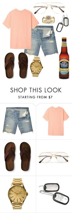"""Labor Day BBQ- Reuben"" by jporter2 ❤ liked on Polyvore featuring Denim & Supply by Ralph Lauren, Stussy, Aéropostale, Bottega Veneta, Nixon, men's fashion and menswear"