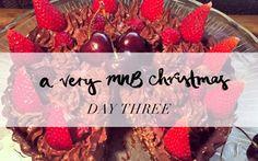 12 Days of MNB #XMAS: Chocolate Berry Tart #lornjanespringclean