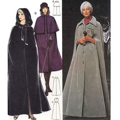 How To Make A Cloak   WOW. How to make Little Red Riding Hood jealous. LOL.Way dramatic cape ...