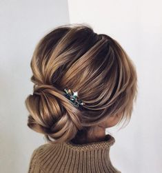 These Beautiful Wedding Hairstyles from updo to wedding hairstyles down are perfect for Every Length,whether attending a wedding or prom hairstyles