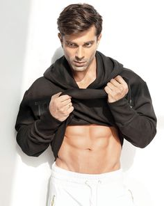 Karan Singh Grover to reveal his fitness secrets on new mobile app Tv Actors, Actors & Actresses, Gurmeet Choudhary, New Mobile, Mobile App, Aerial Yoga, Male Poses, Bollywood Actors, Hot Guys