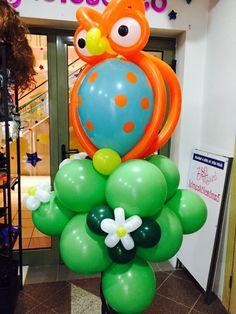 We love balloon animals! Szeretjük az erdei állatokat és a lufikat de leginkabb ötvözni őket  !