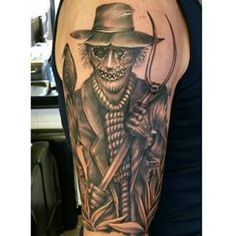 Creepy Scarecrow Tattoo