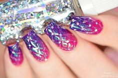 Simply Nailogical: DIY fancy quilted nails