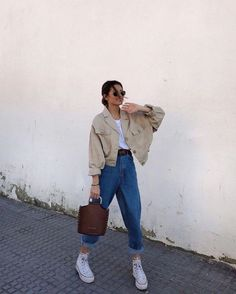 Outfit Main Inspo Page ⋆ Best Frugal Deal & Steals on – Woman's Fashion Inspo Retro Outfits, Cute Casual Outfits, Winter Outfits, Vintage Outfits, Summer Outfits, Casual Chic, Hijab Casual, Evening Outfits, Hijab Outfit