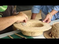 Weaving from the Heart: A Lauhala Hat Weaving Documentary – Knitting Models and Suggestions Hawaiian Hats, How To Make Fascinators, Documentary, Wood Crafts, Straw Bag, Weaving, Heart, Youtube, Jewelery