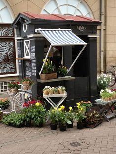 Police Box flower shop, Edinburgh