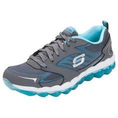 Skechers Schuhe blau pink Mesh Memory Foam Dual Lite Sportiv Damen Sneaker