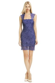 Nicole Miller A Fair Lady Dress- the back of the dress is GORGEOUS and it is super comfy!