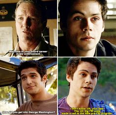 Teen Wolf - You saved their lives. Mason. Malia. Half the population of Beacon Hills. That's got to feel pretty good. It did. For a while. But it's something you want to feel again. Yeah. Yeah, I think so.