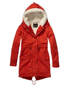 Technical Parka With Removable Quilted Inner Jacket - Scotch & Soda - SOOO much money, but soooo cute!