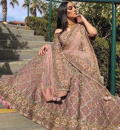 For order please mention in comment or DM us ! Shipping is world wide available .Or contact on whats aap 00923314744301 . Asian Bridal Dresses, Pakistani Wedding Outfits, Indian Bridal Outfits, Pakistani Bridal Dresses, Indian Bridal Wear, Pakistani Wedding Dresses, Indian Dresses, Indian Outfits Modern, Pink Bridal Lehenga