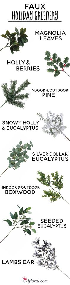 Types of Faux Holida