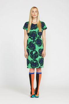 Pumppula - Marimekko. Maybe sans knee socks for me.