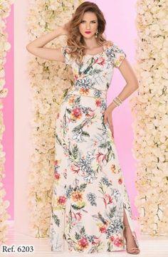 600313 - Vestido Fábia - Floratta Modas