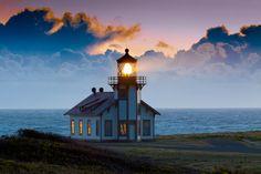 Point Cabrillo Lighthouse - Pine Grove, California
