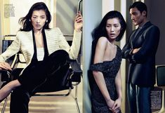 liu wen by sharif hamza in giorgio armani for vogue china may 2012....love everything about this editorial