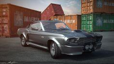 Illés Gábor 07 - Ford Mustang GT500 Eleanor